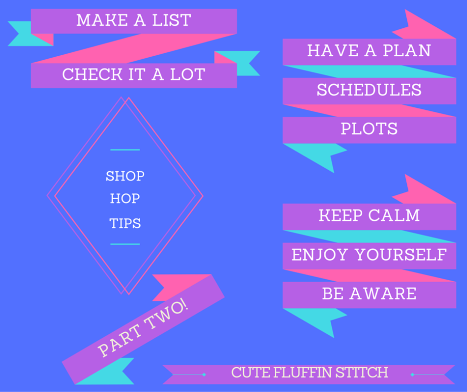 Shop Hop Tips PART 2