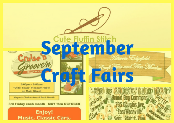 September Craft Fairs