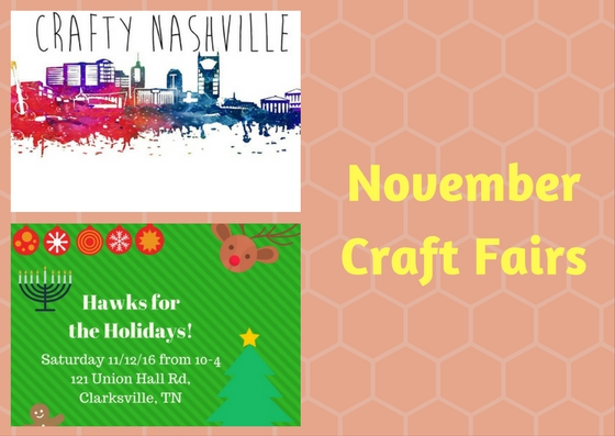 November Craft Fairs