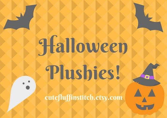 Halloween Plushies!