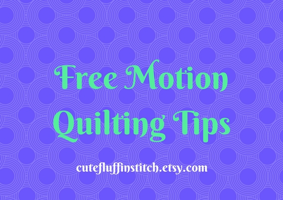Free Motion QuiltingTips