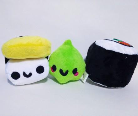 Sushi, Wasabi and Nigiri (Pattern by Sew Desu Ne?)